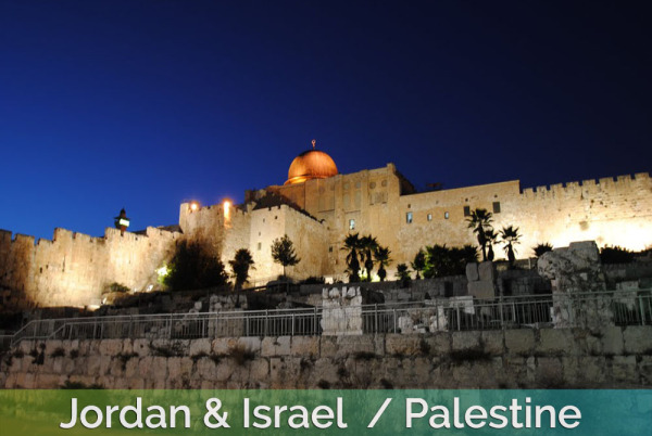Jordan & palestine