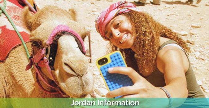 Petra-camel-selfie