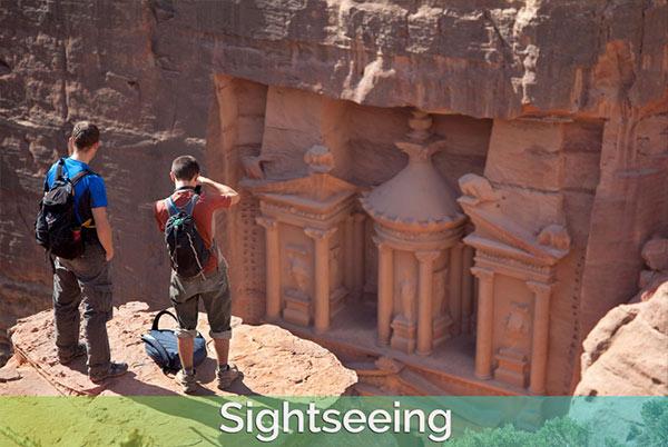 Sightseeing-Petra
