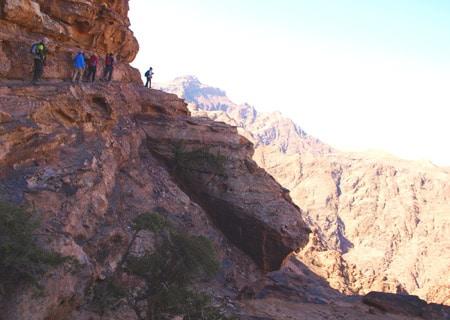 Dana-to-Petra-Hike
