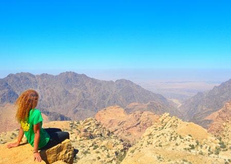 Dana-to-Petra-View