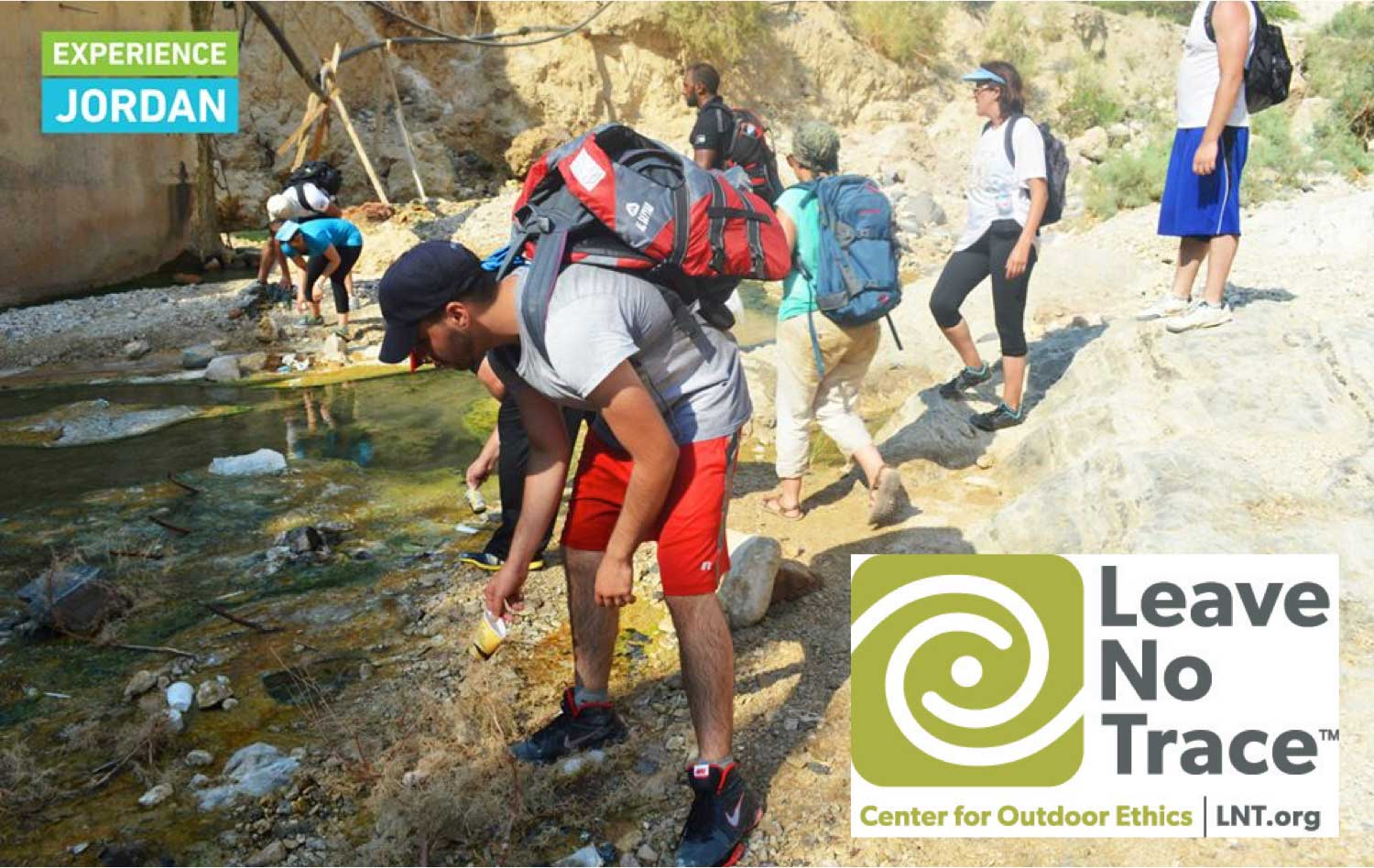 Leave No Trace – Pioneering best practices in Jordan