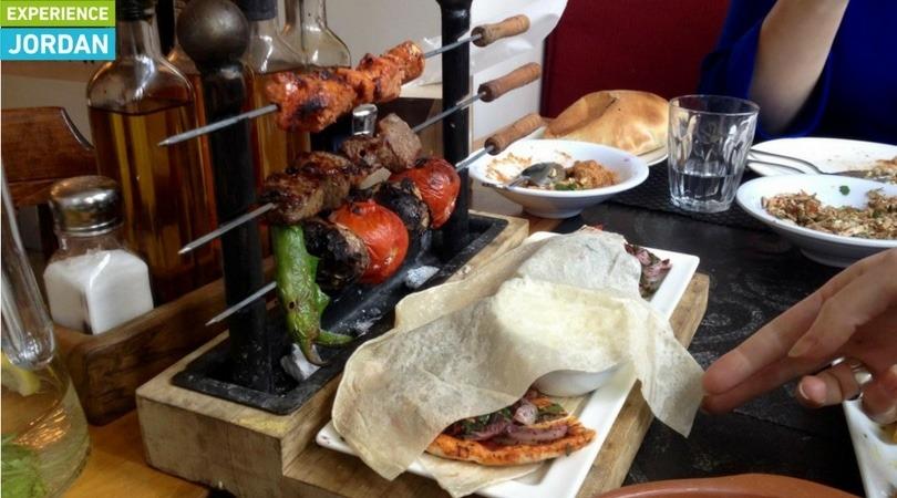 Syrian food in Jordan - Experience Jordan mishowee