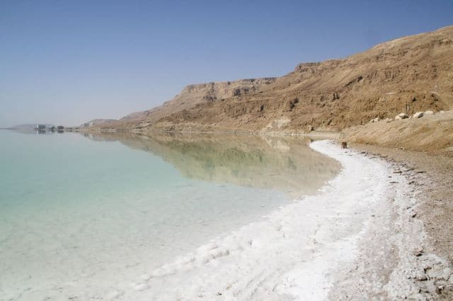 Visit the Dead Sea in Jordan