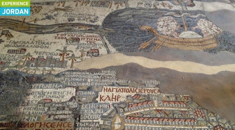 Mosaic Floor in Madaba