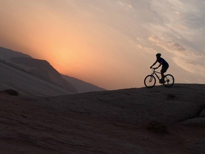 wadi rum cycling